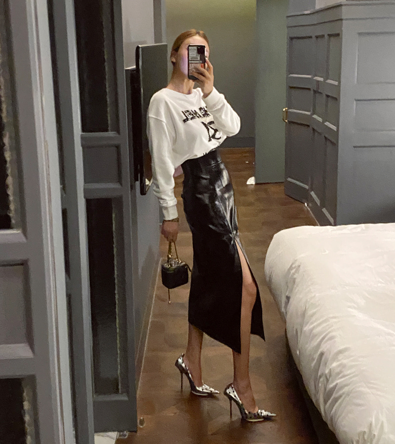 metal slit skirt